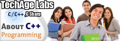 Learn C, C++, C Sharp with TechAge Academy at Noida Location.We provide best 6 Months IT Industrial Winter,Regular Training Call Now For More Details: +91-9212043532, +91-9212063532 Visit : http://www.techageacademy.com   Contact Details:- TechAge Labs Academy C-46 Ground Floor, Sector-2, Noida-201301. Phone no.: 0120-4540894,+91-9212063532 Email: info@techagelabs.com Website  : http://www.techageacademy.com