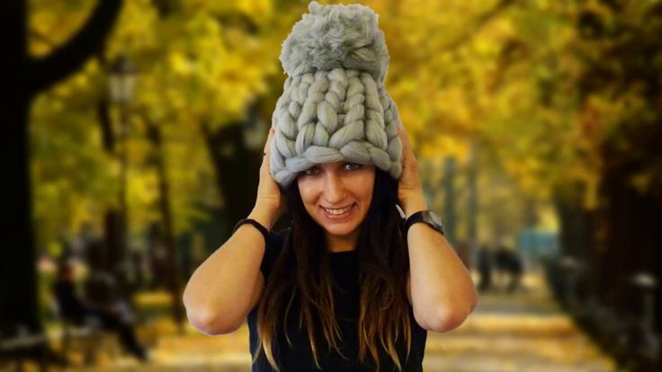 How to knit super chunky merino hat, tutorial by Filart #chunky #merino #hat #hand #knitting #wool