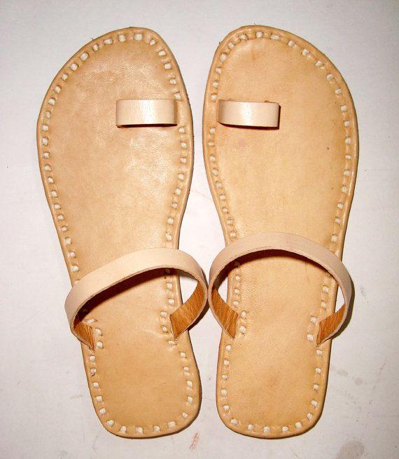 TONGS en cuir, babouches en cuir, sandales cuir, Sandales femme, antique flats cuir, pantoufles, chaussures pas cher, chaussures en ligne