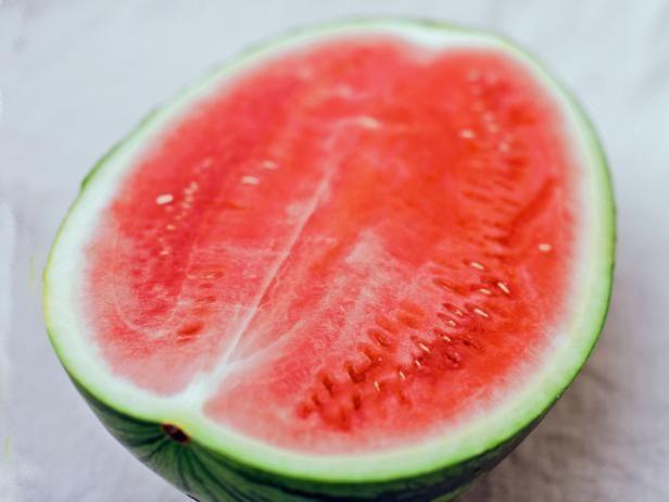 Halved Watermelon