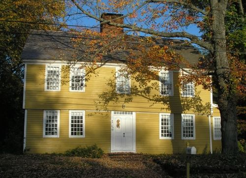 1000 Images About Saltbox Colonial Homes On Pinterest House Plans Colonial House Plans And