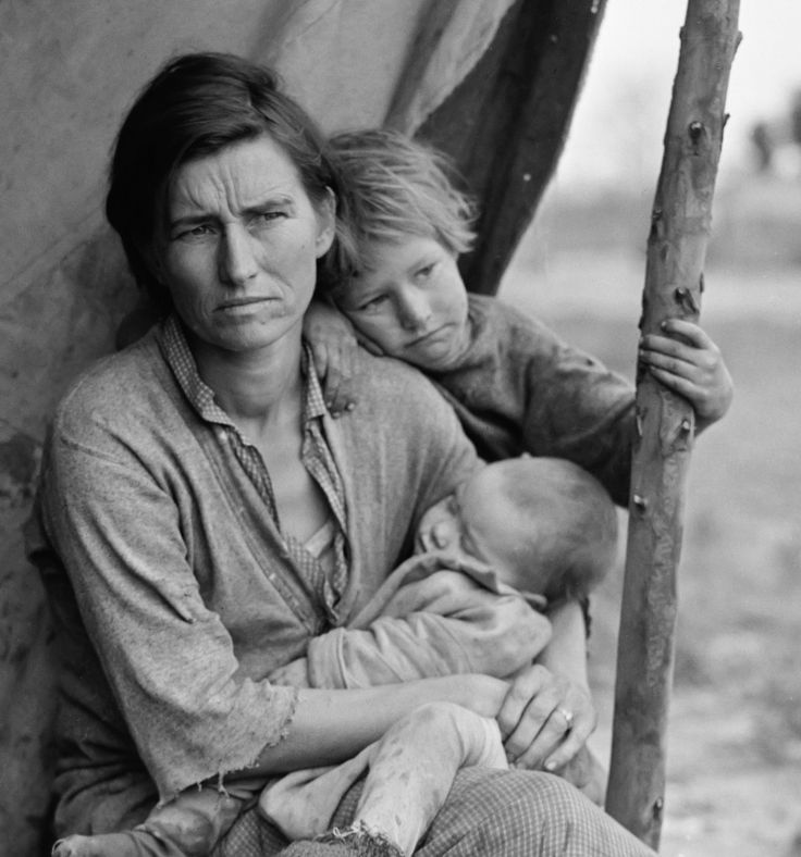 Dorothea Lange Migrant Mother series