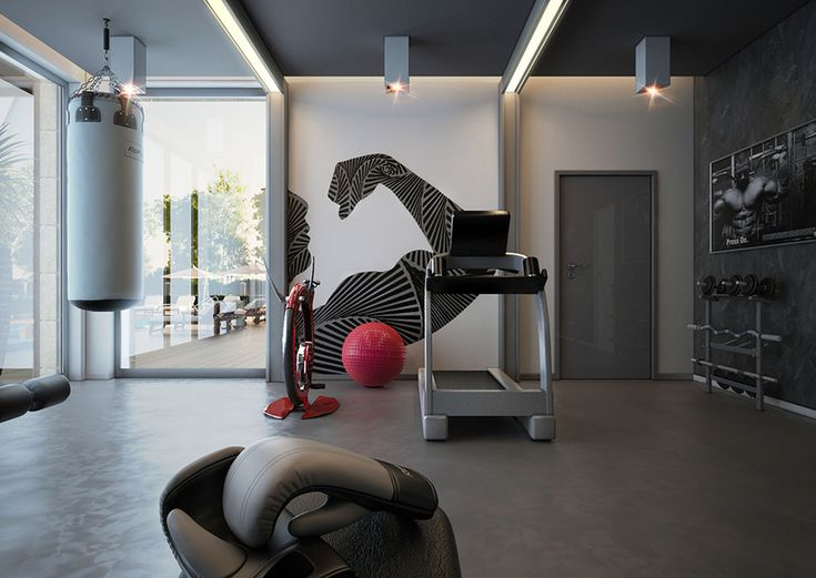 79 best Home gyms images on Pinterest Exercise rooms, Home gyms - fitnessstudio zuhause einrichten
