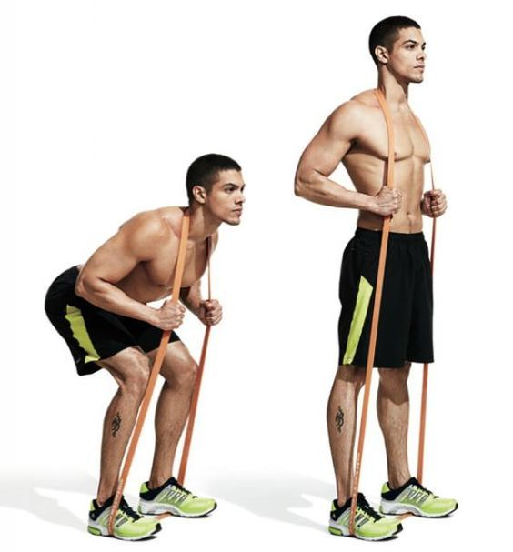 Exercise Bands Any Good: 1000+ Ideas About Back Workout Men On Pinterest