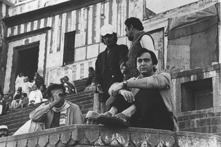 soumitra chatterjee and satyajit ray together...a 'time stood still' moment