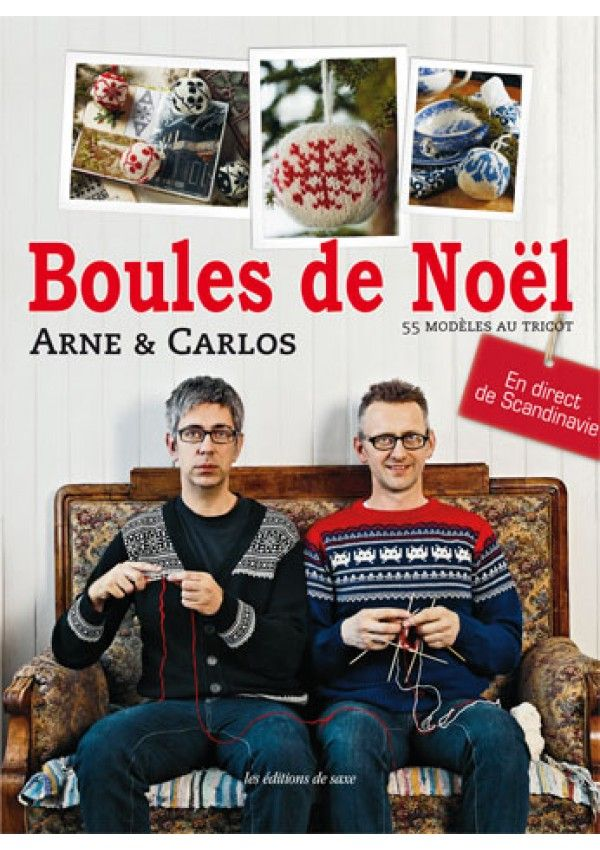 Dans ce livre Arne & Carlos dévoilent leur univers débordant d'imagination. Réalisez 55 modèles de boules décoratives tricotées avec une seule explication