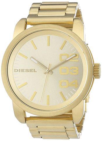 Montre Diesel Or Homme DZ1466 - Quartz - Analogique - Cadran et Bracelet Acier inoxydable Or