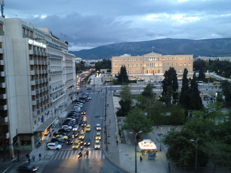 Syntagma Sq., downtown Athens