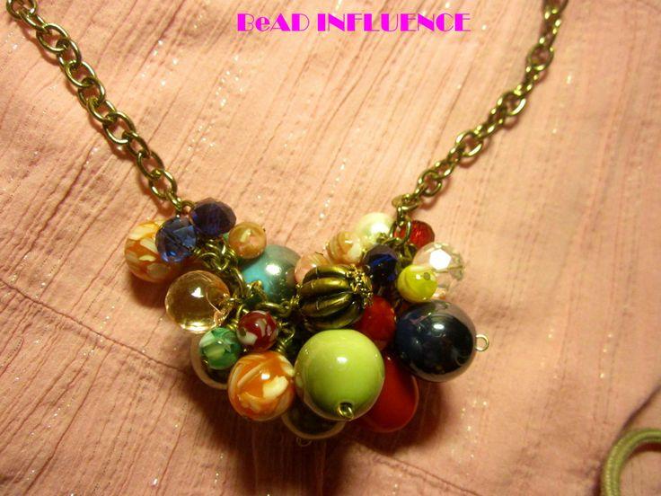 Fruity Delight #diy #necklaces #beads #bead #diy #accessories
