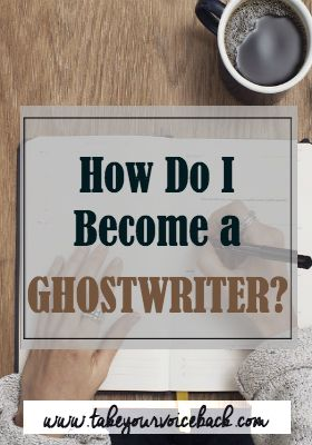 Ever wonder what it takes to get paid the big bucks to write a book? If so, here's what it takes to become a paid ghostwriter.