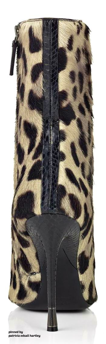 Tom Ford Pure Line Leopard Bootie