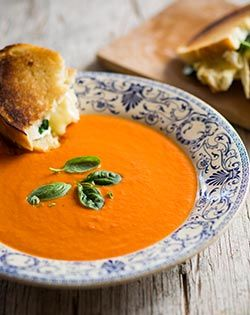 Creamy Tomato Soup - Quick, easy and  delicious # Comfort Food