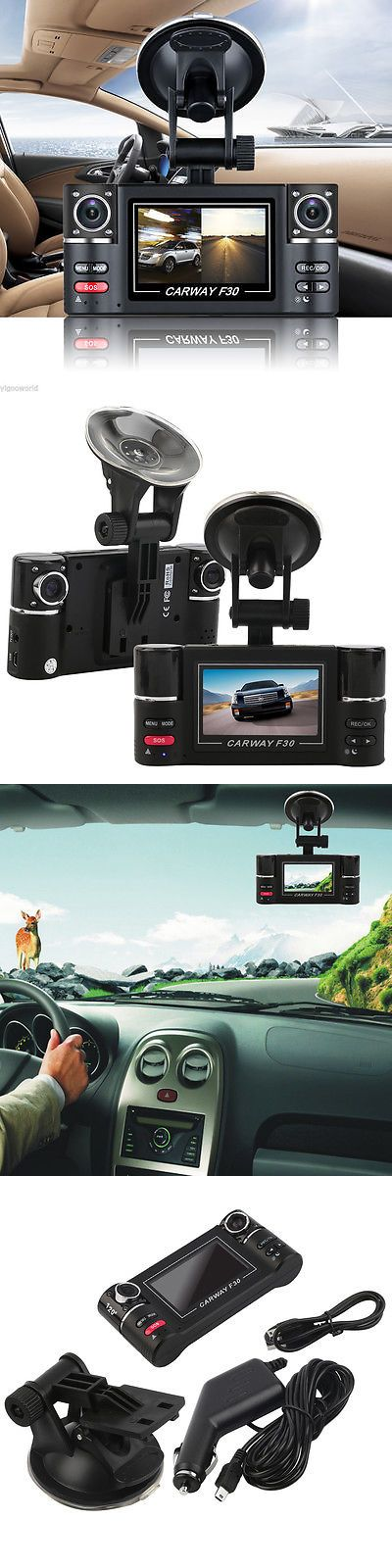 Digital Video Recorders Cards: Hd 1080P Car Dvr Vehicle Camera Digital Video Recorder Dash Cam Dual Lens 2.7 -> BUY IT NOW ONLY: $37.59 on eBay!