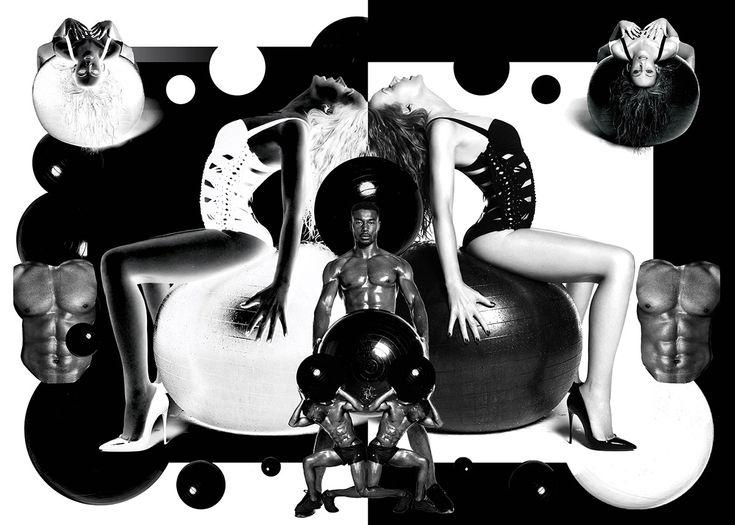 Chandelier Creative, Mat Maitland and Hattie Stewart made a cheeky pop art collection of Kylie Minogue's tour