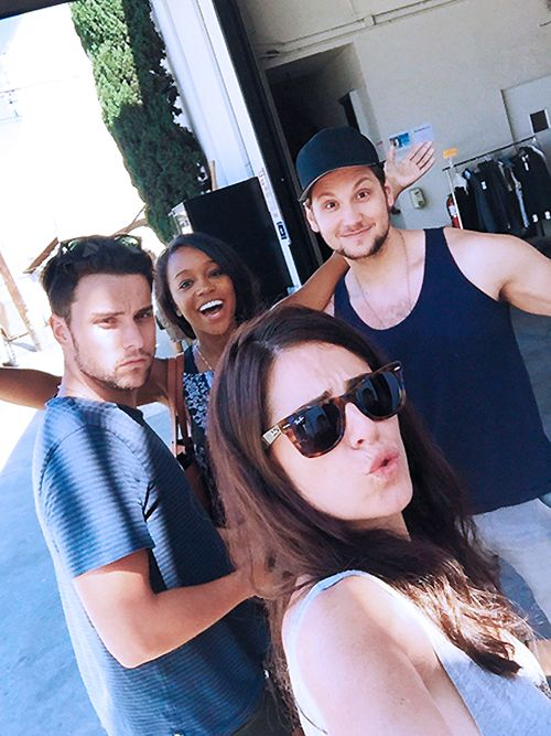 Jack Falahee, Aja Naomi King, Karla Souza, and Matt McGorry