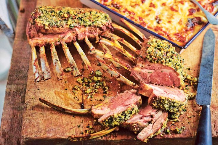"""We agree with Jamie Oliver: """"Cooking whole racks of lamb is so exciting – they look incredible."""""""