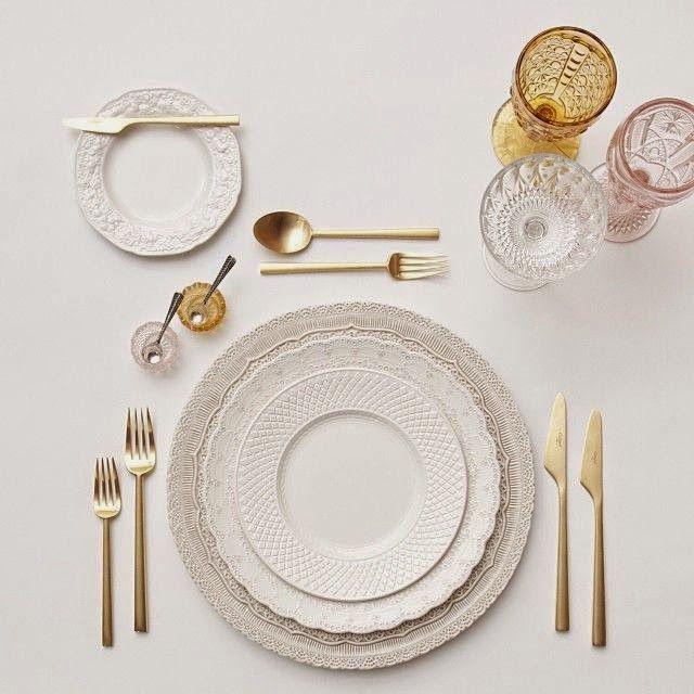 """Hermanas Bolena: DECORACIÓN   """"La mesa perfecta"""": cómo combinar vajillas, cristalerías y cubiertos para conseguir una mesa 10."""