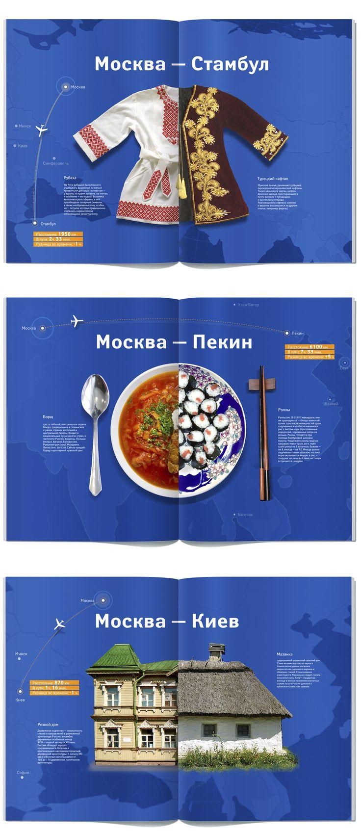 Аэрофлот /Концепция/, Annual report © Илья Калимулин