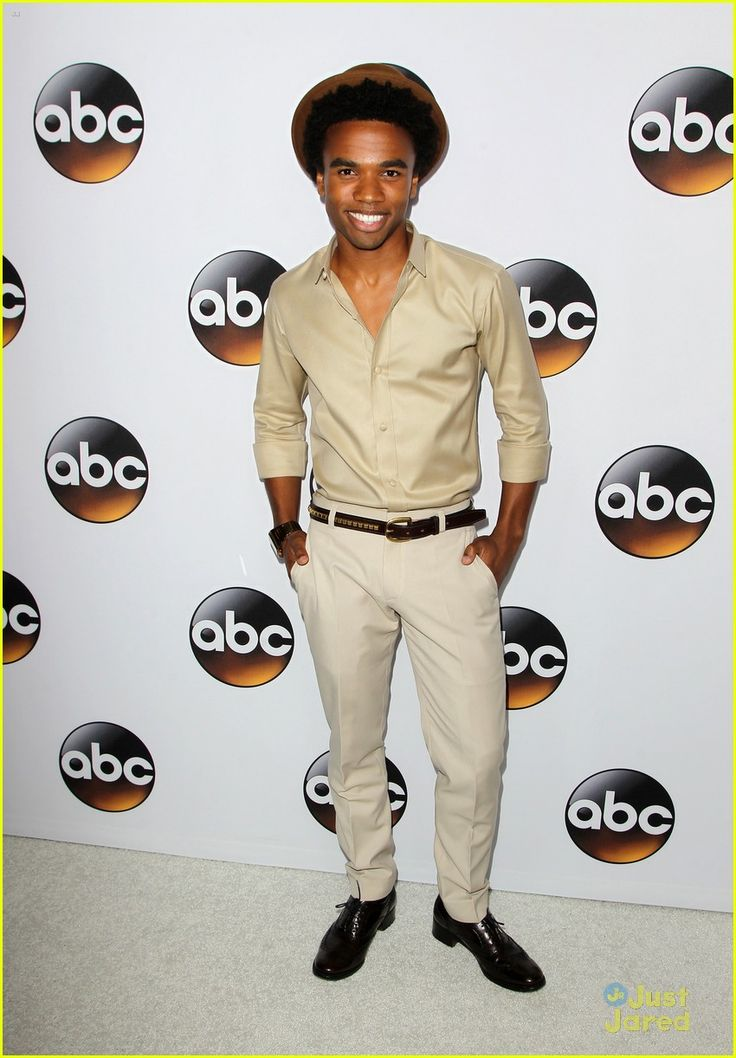 Luke Youngblood at ABC's TCA Press Tour Party