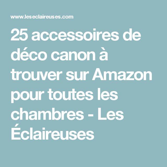 25 accessoires de déco canon à trouver sur Amazon pour toutes les chambres - Les Éclaireuses