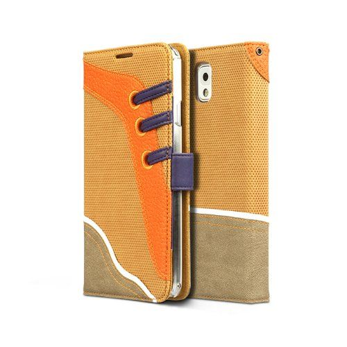 Samsung Galaxy Note 3 Sneakers Diary Collection - Camel