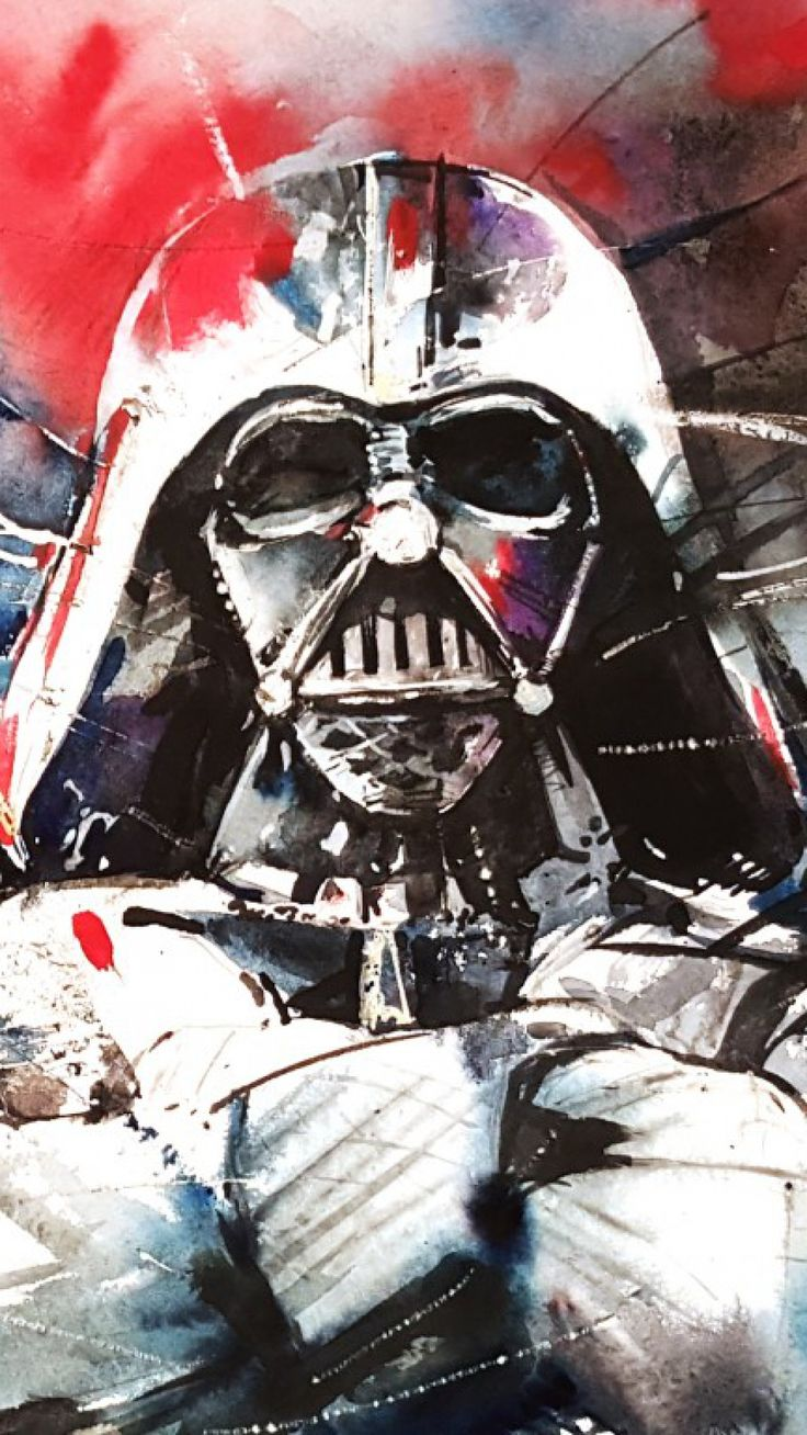 Darth Vader Star Wars Abstraction - Tap to see more exciting Star Wars wallpaper! @mobile9