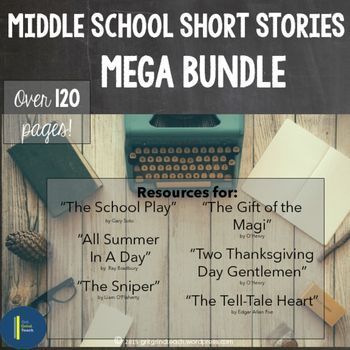 Short story writing assignment middle school
