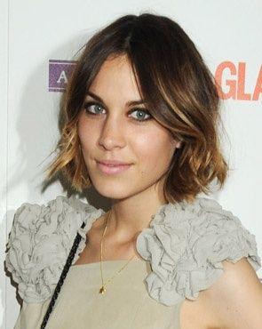 trendy halvlangt hår - Google-søk