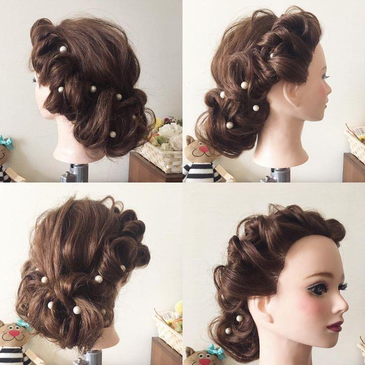 毛流れをいかしてまとめてく☺︎ 部分的に立体感をだして小顔効果☺︎ 花嫁さまの髪をセットしてるときがいちばん癒される☺︎🌸 この仕事に出逢えてよかった☺︎ 今日もお支度がんばる☺︎❣️ ︎ #hair #hairdo #hairstyle  #bride  #wedding  #ヘアセット #ヘアスタイル #ヘアアレンジ  #ブライダル #ブライダルヘア #結婚式 #前撮り #アップスタイル  #ざっくり  #プレ花嫁 #ベール #花嫁ヘア #和 #和装 #白無垢ヘア  #白無垢 #ドレス