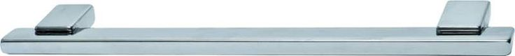 Hafele 111.24.605 Bella Italiana 5 Inch Center to Center Bar Cabinet Pull Satin Nickel Cabinet Hardware Pulls Bar