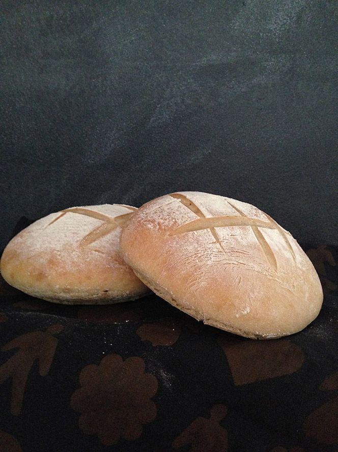 Ranskalainen maalaisleipä valmistuu ilman hiivaa