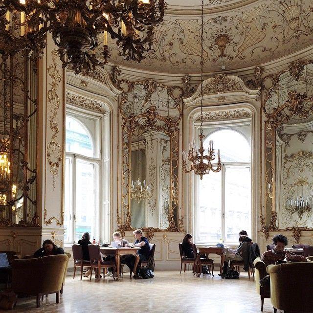 The Szabo Ervin Library, Budapest