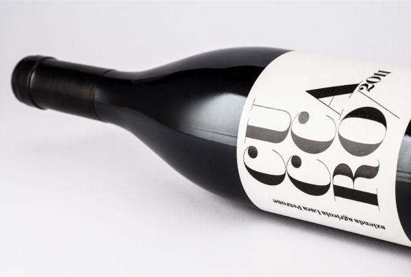 Cuccaro's wine on Behance