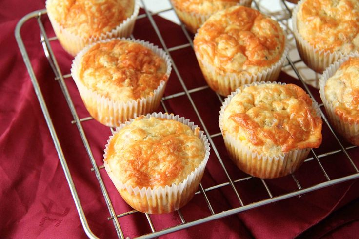 Bacon cheddar corn muffins | Most Important Meal | Pinterest