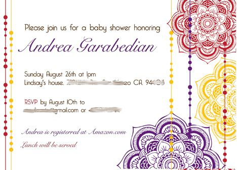 Moroccan Baby Shower Invitations   Google Search