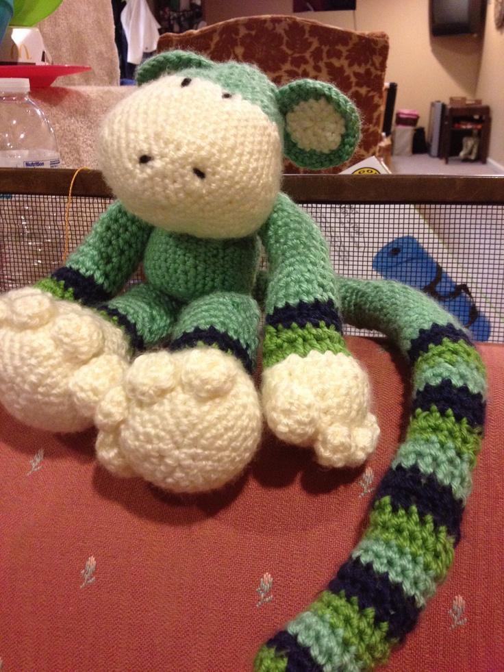 71 besten Crochet Amigurumi Monkey Bilder auf Pinterest | Affen ...