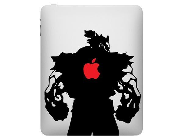 Street Fighter Akuma iPad Decal