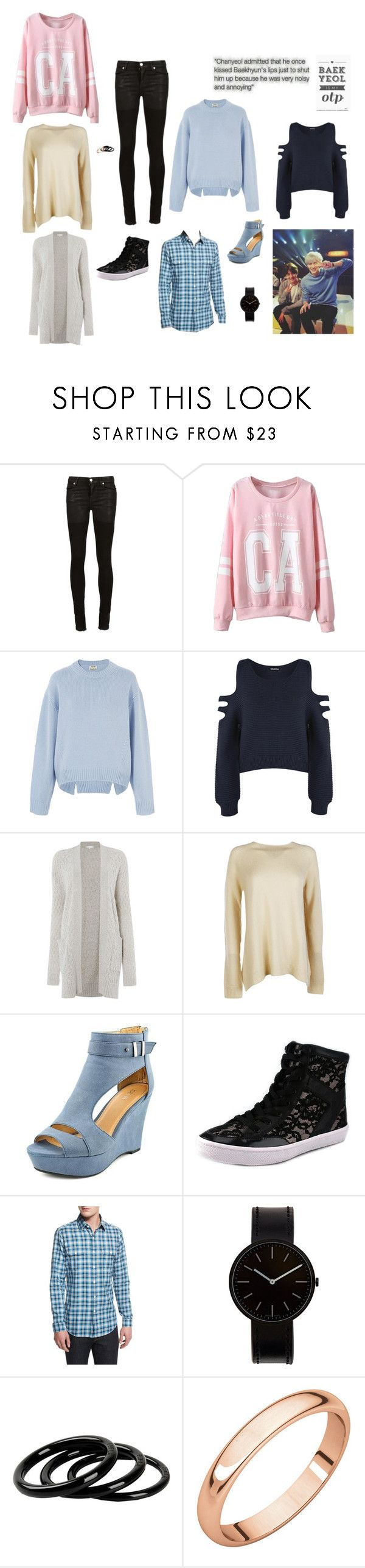 """""""EXO Baekyeol Double Date"""" by park-ji-eun ❤ liked on Polyvore featuring Alyx, WithChic, Acne Studios, WearAll, Gray & Willow, The Row, Rebecca Minkoff, Tom Ford, Uniform Wares and Furla"""