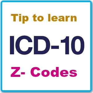How to remember Z codes in ICD 10 in Future