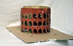 how can i build a model of the roman coliseum?