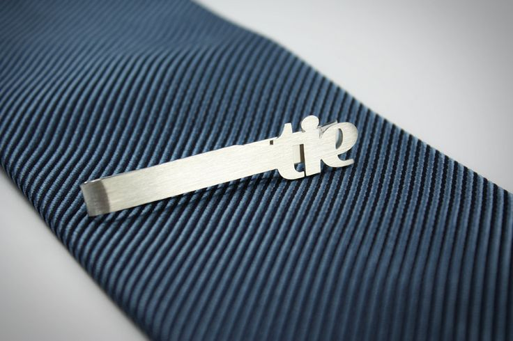 Initials tie bar by FeinFein