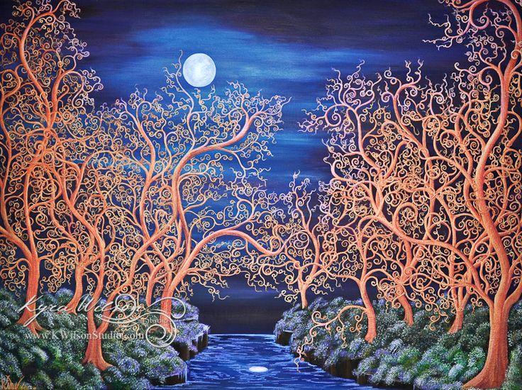 Moonlit River (PRINT)