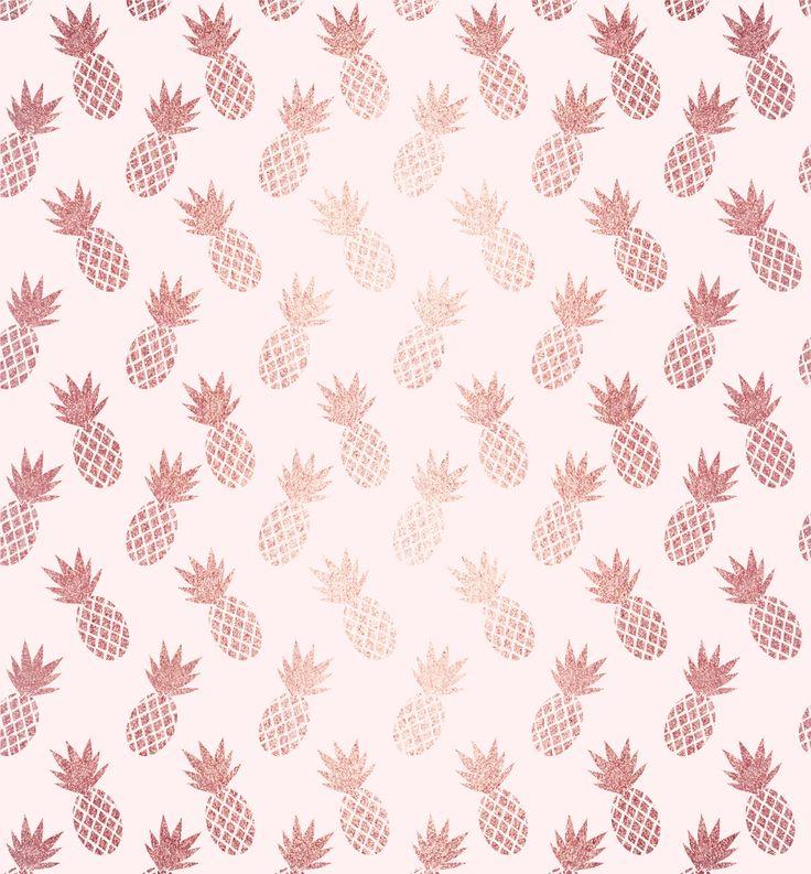 Rose Gold Pineapple Pattern Laptop Ipad Skin By Tanyadraws 13 Macbook Pro Air Rose Gold Wallpaper Iphone Pineapple Wallpaper Rose Gold Wallpaper