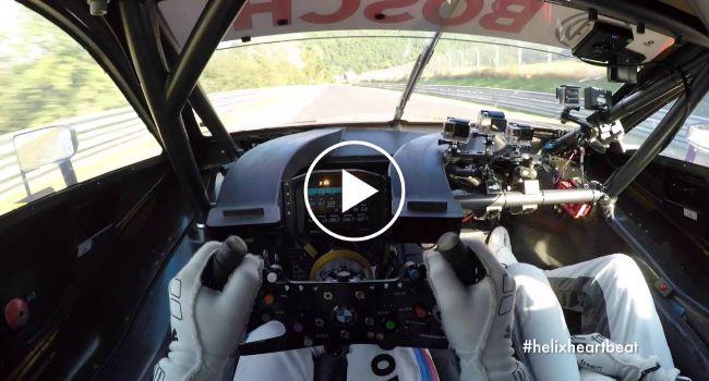 Este Vídeo Do Piloto Augusto Farfus Ao Volante Do Seu BMW M4 é Simplesmente De Arrepiar