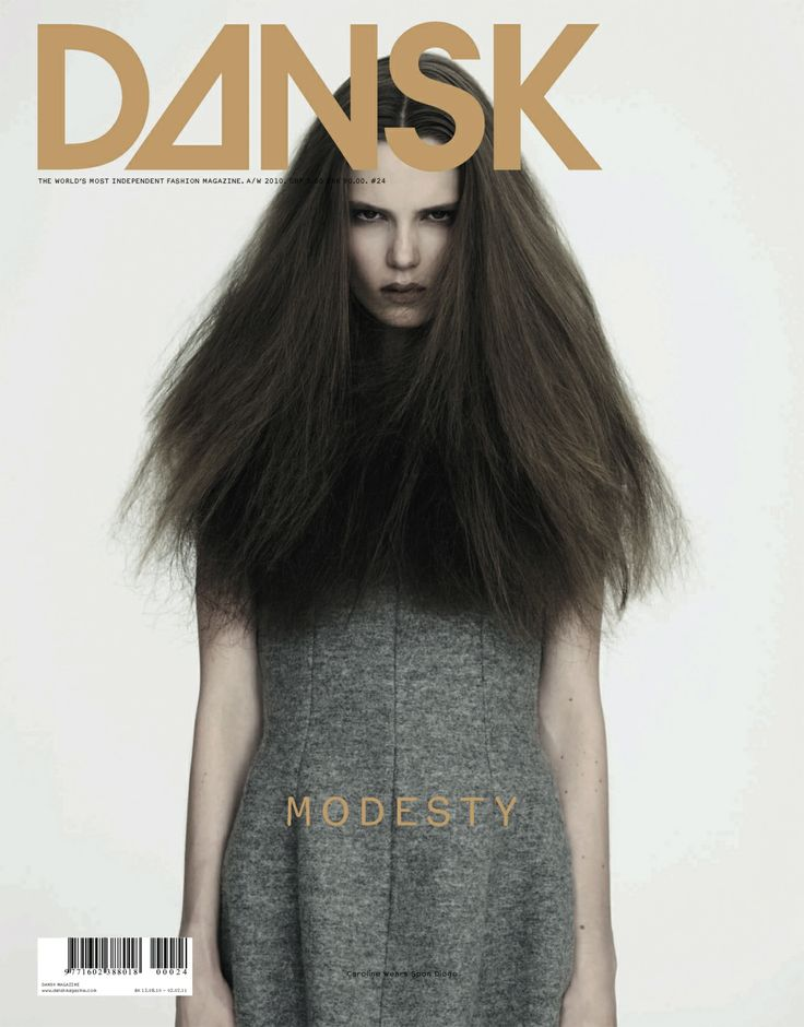 DANSK 24 - MODESTY edition #24 a/w 2010