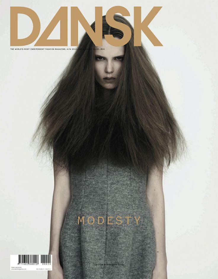 DANSK 24 - MODESTY edition #24 a/w 2010