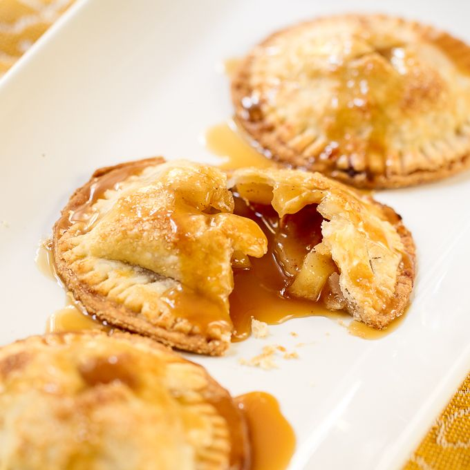 Salted Caramel Apple Handpies
