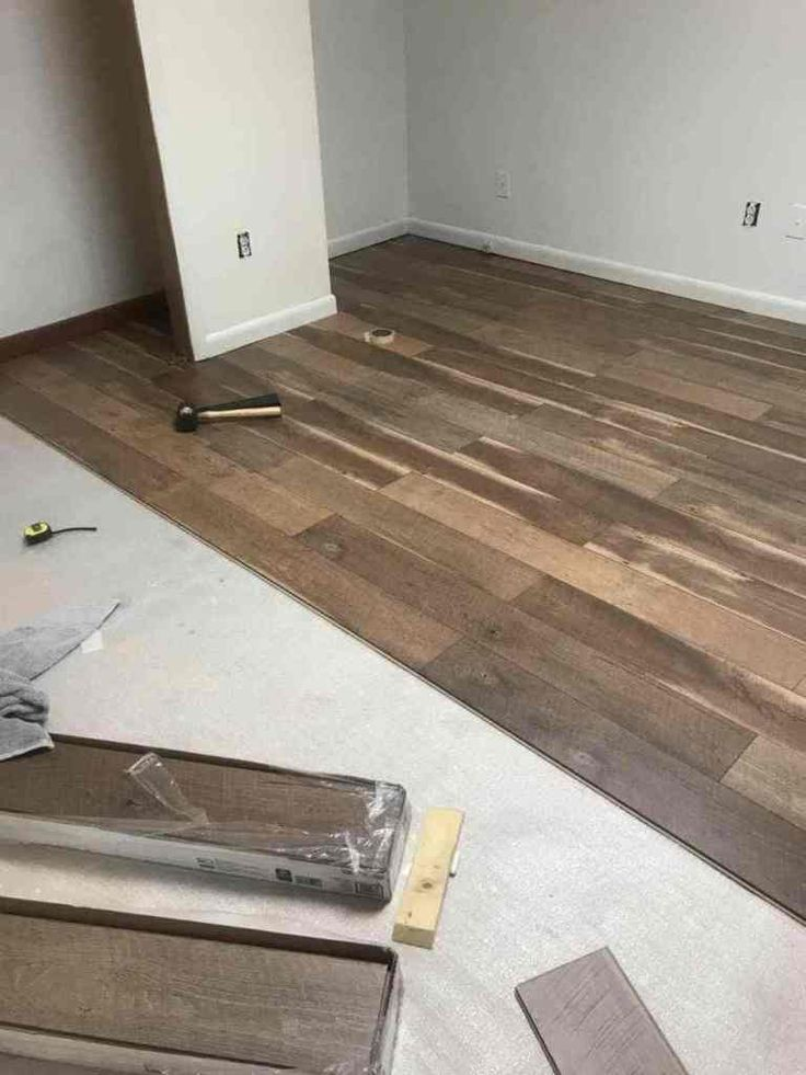 Laminate Flooring Floor Makeover, How Do You Install Laminate Flooring On Concrete Slab