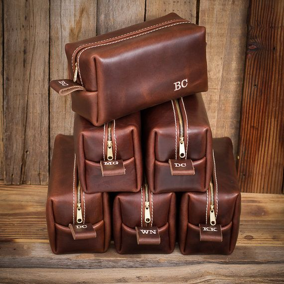 Famous Horween Leather Men S Toiletry Bag By