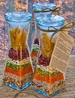 Minestrone Soup Mix--makes a great gift